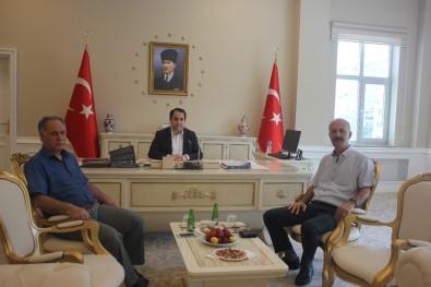 DMO Bölge Müdürü Özbek'ten Kaymakam Zengince'ye Ziyaret