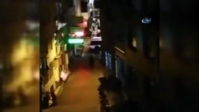 Fatih'te 1 Kişinin Hayatını Kaybettiği Dehşet Dolu Anlar Kamerada