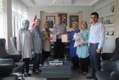 Göl Flanöz Kadın Girişimi Kooperatifi'nden Teşekkür Ziyareti