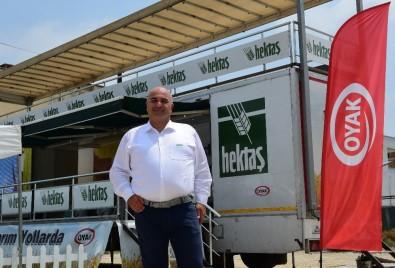 Hektaş'ın Akıllı Tarım Tırı Adana'da Çukurovalı Çiftçilerle Buluştu
