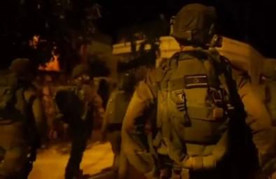 İsrail Askerleri 17 Filistinliyi Gözaltına Aldı