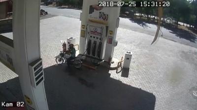 Kapkaççıları, Kullandıkları Motosiklet Ele Verdi