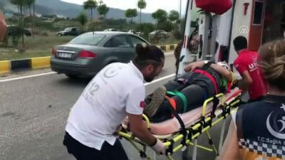 Karabük'te Trafik Kazaları Açıklaması 5 Yaralı