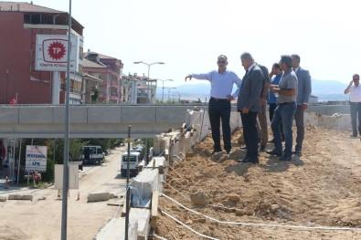 Kırıkkale'de Kavşak Çalışmaları Devam Ediyor