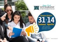 KARATAY ÜNİVERSİTESİ - KTO Karatay Üniversitesi Tercih Günleri Başladı