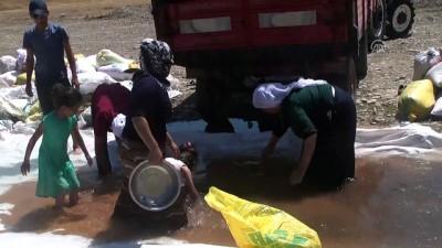Muş'ta Köylülerin Buğday Mesaisi