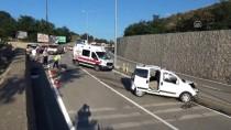 Otomobil İstinat Duvarına Çarptı Açıklaması 1 Ölü, 1 Yaralı
