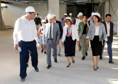 Şahin, Panorama 25 Aralık Müzesi İnşaat Çalışmalarını İnceledi