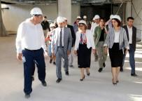ÇANAKKALE ZAFERI - Şahin, Panorama 25 Aralık Müzesi İnşaat Çalışmalarını İnceledi