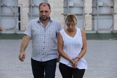 Sahte Altın Dolandırıcılığından Adliyeye Sevk Edilen Kadın Tutuklandı