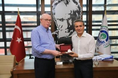 Saint-Josse Belediye Başkanı Emin Kır'dan Başkan Kurt'a Ziyaret