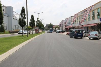 Sakarbaba Caddesi Yeni Yüzüne Kavuştu