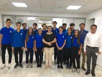 YÜKSEK ATLAMA - Şampiyonlardan Başkan Pekdaş'a Ziyaret