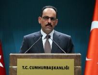 AREFE GÜNÜ - Cumhurbaşkanlığı Sözcü Kalın: Kurban Bayramı tatili 9 gün
