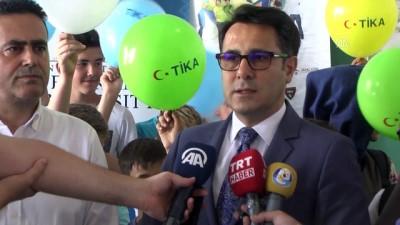 TİKA'nın Genç Gönüllüleri Makedonya'da