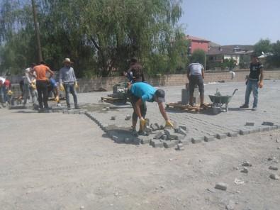 Tuzluca'da Yol Yapım Çalışmaları
