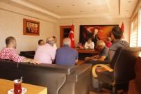 MEHMET NURİ ÇETİN - VADEF'den Kaymakam Çetin'e Ziyaret