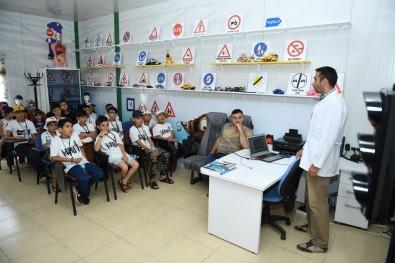 Yeşilyurt Çocuk Trafik Eğitim Parkı Mardinli Öğrencileri Ağırladı
