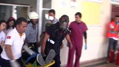 Yüksekova Devlet Hastanesinde Yangın Tatbikatı