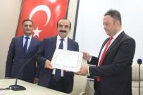 AK Parti Hakkari Milletvekili Dinç Mazbatasını Aldı