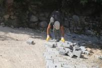 KERVAN - Akseki Belediyesi'nin Yol Düzenleme Çalışmaları Devam Ediyor