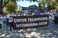 DOĞUBEYAZıT - Antalya'da Çocuk İstismarı Protesto Edildi