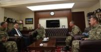 AZİZ YILDIRIM - Askeri Erkandan Vali Yıldırım'a Taziye Ziyareti