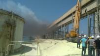 BAGFAŞ'ta Yangın Ucuz Atlatıldı