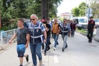 YALAN BEYAN - Bolu'da Çeşitli Suçlardan Aranan 3 Kişi Tutuklandı
