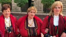 AVRUPALı - Bulgaristan'da Halk Oyunlarıyla Protesto