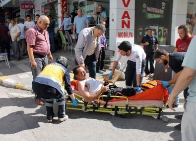 Çankırı'da Silahlı Saldırı Açıklaması 2 Yaralı