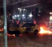 SÖNDÜRME TÜPÜ - Damlayan Benzin Ticari Taksiyi Yaktı