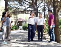 BOTANİK BAHÇESİ - Ege'nin İlk Millet Bahçesi De Yunusemre'den