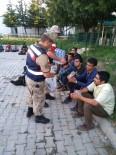 Elazığ'da 60 Afganlı Yakalandı