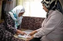 İBRAHIM KÜÇÜK - Engelli Fatma Nine, 60 Yaşında Okuma Yazmayı Öğrendi