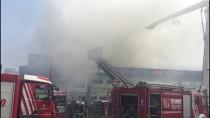 HADıMKÖY - GÜNCELLEME - Hadımköy'de Fabrika Yangını