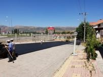 YUSUF ÖZDEMIR - Hastane Otoparkında Asfaltlama Çalışması Yapıldı