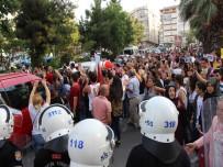 PROVOKASYON - İstismar Ve Cinayetlere Karşı Yapılan Eylemde Gerginlik