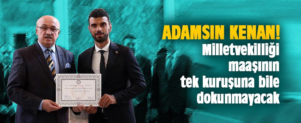 Sofuoğlu milletvekili maaşını hayır işlerinde kullanacak