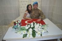 MEHMET İLHAN - Kendi Düğününe Askeri Üniforma İle Geldi