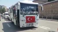 SERVİS ŞOFÖRÜ - Leyla Ve Eylül'ün Ölümüne Tepki Gösteren Servisçiler Yolları İnletti