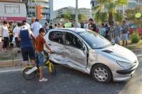 SELIMIYE - Milas'ta Otomobil İle Tır Çarpıştı;  4 Yaralı