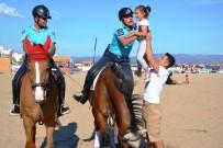 UZMAN JANDARMA - Sarımsaklı Plajlarının Güvenliği Jandarmanın Atlı Süvarilerine Emanet
