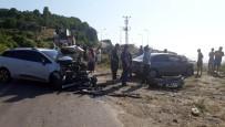 Zonguldak'ta Trafik Kazası Açıklaması 3 Yaralı