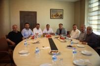 AK Parti Heyeti NTSO Başkanı Parmaksız'ı Ziyaret Etti