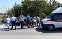 MIYASE - Amasya'da otobüs kazası: 2 ölü, 1 yaralı