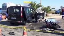 ÇOLAKLı - Antalya'da Motosiklet İle Hafif Ticari Araç Çarpıştı Açıklaması 1 Ölü, 2 Yaralı