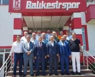 Bandırmaspor'dan Balıkesirspor Baltok'a Ziyaret