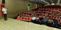 İŞ GÜVENLİĞİ UZMANI - Belediye Çalışanlarına Temel İş Sağlığı Ve Güvenliği Eğitimi