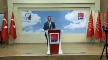 BÜLENT TEZCAN - CHP'li Tezcan Açıklaması 'Genel Merkezimizin Gündeminde Olağanüstü Kurultay Yoktur' (1)